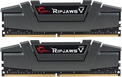 G.Skill RipJaws V grau DIMM Kit 16GB, DDR4-3200, CL16-18-18-38 (F4-3200C16D-16GVGB)