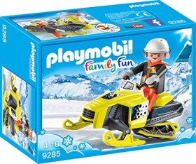 playmobil Family Fun - Schneemobil (9285)