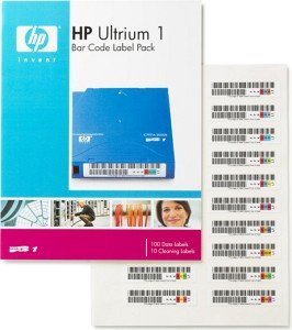 HP LTO-Ultrium 1 Bar Code Label Pack (Q2001A)