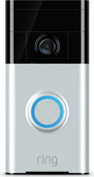 Ring Video Doorbell, Satin Nickel (8VR1S5)