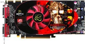 XFX Radeon HD 4870 ATI-Design, 1GB GDDR5, 2x DVI, TV-out (HD-487A-ZDFC/HD-487A-ZWFL)