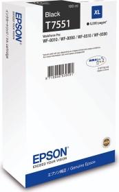 Epson Tinte T7551 schwarz hohe Kapazität (C13T755140)