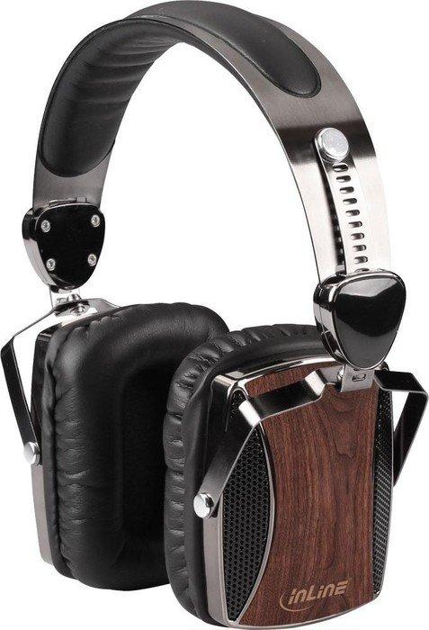 InLine 55358 Headset walnuss