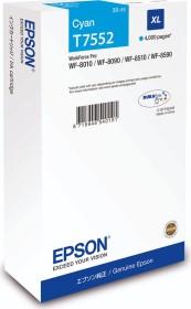 Epson Tinte T7552 cyan hohe Kapazität (C13T755240)