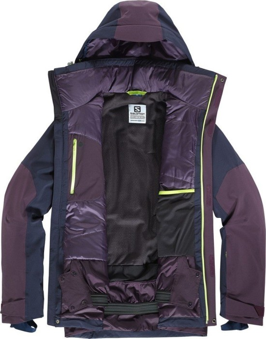 Salomon Icerocket Skijacke mavericknight sky (Herren) (397331) ab € 229,00