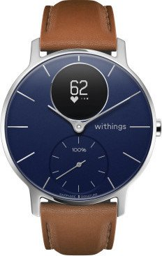 Withings Steel HR Sapphire signature 36mm activity tracker blue/silver