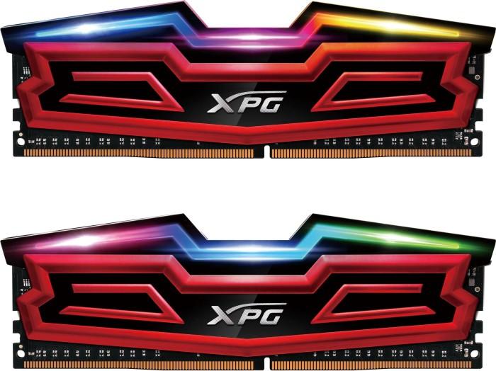 ADATA XPG Spectrix D40 RGB DIMM Kit 16GB, DDR4-2666, CL16-16-16, Dual Color Box (AX4U266638G16-DRS)