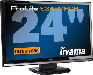"iiyama ProLite E2407HDS-B1, 23.6"""