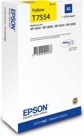 Epson Tinte T7554 gelb hohe Kapazität (C13T755440)
