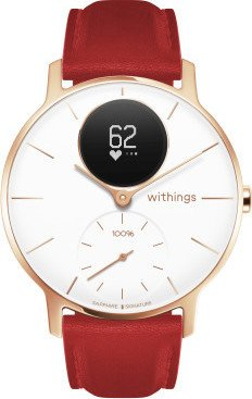 Withings Steel HR Sapphire signature 36mm activity tracker white/rose gold