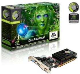 Point of View GeForce GT 430, 533MHz, 1GB DDR3, VGA, DVI, HDMI (VGA-430-C1-1024)