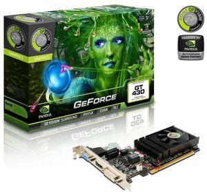 Point of View GeForce GT 430 (533MHz), 1GB DDR3, VGA, DVI, HDMI (VGA-430-C1-1024)