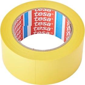 tesa 60760, floor markings adhesive tape, yellow, 50mm/33m, 1 piece (60760-00095-15)
