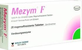 Mezym F magensaftresistente Tabletten, 20 Stück