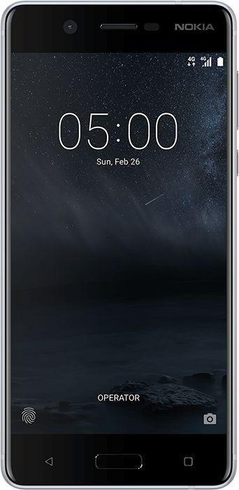 Nokia 5 Dual-SIM silber