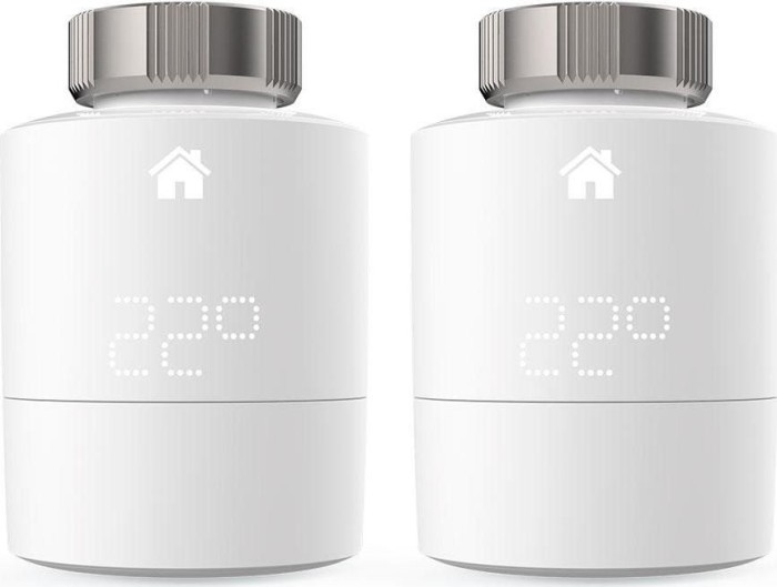 tado Smart Funk-Heizkörperthermostat Duo Pack, horizontale Montage (V3P-2SRT01H-TC-ML/103113)