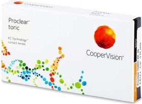 Cooper Vision Proclear toric XR, +6.50 Dioptrien, 3er-Pack