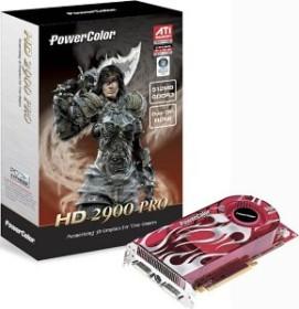 PowerColor Radeon HD 2900 Pro, 512MB DDR3, 2x DVI, ViVo, PCIe (A60C-PVE3)