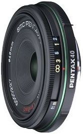Pentax smc DA 40mm 2.8 Limited black (21550)