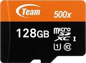TeamGroup R80/W20 microSDXC 128GB Kit, UHS-I, Class 10 (TUSDX128GUHS03)