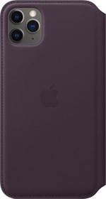 Apple Leder Folio Case für iPhone 11 Pro Max Aubergine (MX092ZM/A)
