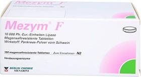 Mezym F magensaftresistente Tabletten, 100 Stück