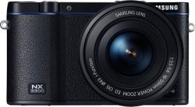 Samsung NX3300 schwarz mit Objektiv 16-50mm ED PZ OIS i-Function (EV-NX3300BOBDE)