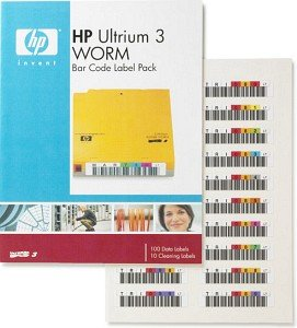HP LTO-Ultrium 3 WORM Bar Code Label Pack (Q2008A)