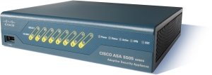 Cisco ASA 5505 Firewall Edition, Unlimitierte User, 3DES/AES (ASA5505-UL-BUN-K9)
