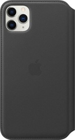 Apple Leder Folio Case für iPhone 11 Pro Max schwarz (MX082ZM/A)