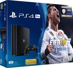 Sony PlayStation 4 Pro - 1TB FIFA 18 Bundle schwarz