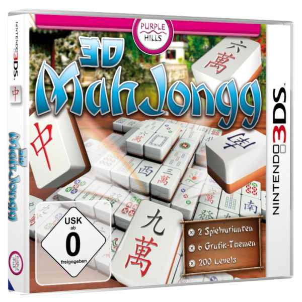 3D Mahjongg (English) (3DS)