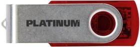 BestMedia Platinum Twister transparent rot 128GB, USB-A 3.0 (177695)