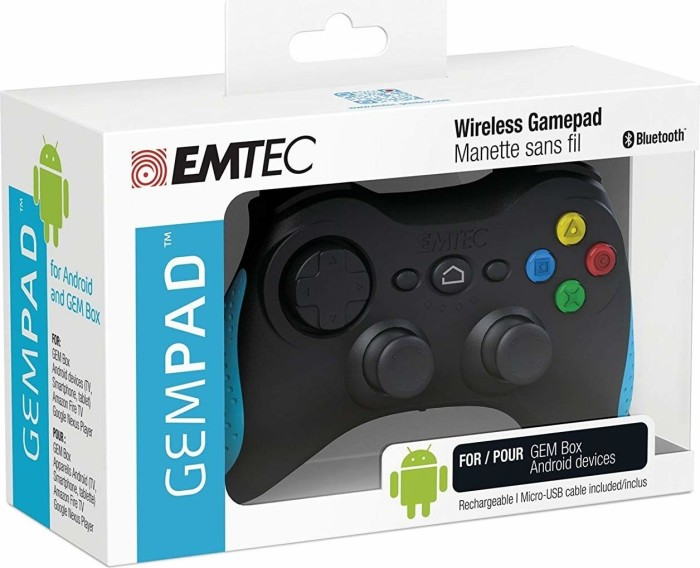 Emtec Gem Pad F500 Wireless Gamepad Ab 3990 2019