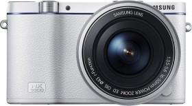 Samsung NX3300 weiß mit Objektiv 16-50mm ED PZ OIS i-Function (EV-NX3300BOWDE)