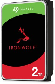 Seagate IronWolf NAS HDD 4TB Bundle, SATA 6Gb/s, 2x 2TB-Pack (ST2000VN004X2)