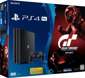 Sony PlayStation 4 Pro - 1TB GT Sport Bundle schwarz
