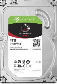 Seagate IronWolf NAS HDD 8TB Bundle, SATA 6Gb/s, 2x 4TB-Pack (ST4000VN008X2)