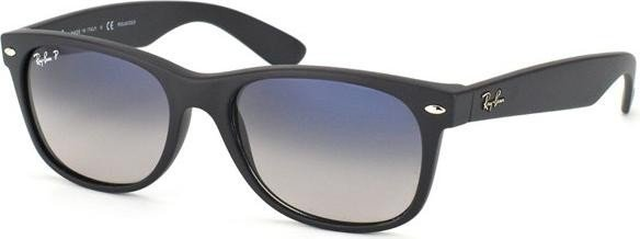 9302326e1b Ray-Ban RB2132 New Wayfarer Classic 52mm black polarized blue-grey gradient  (