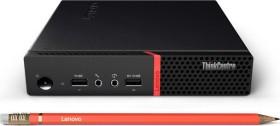 Lenovo ThinkCentre M715q Tiny 2nd Gen, Ryzen 5 2400GE, 8GB RAM, 256GB SSD, WLAN, Windows 10 Pro (10VG001DGE)