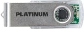 BestMedia Platinum Twister transparent 128GB, USB-A 3.0 (177697)