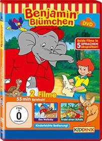 Benjamin Blümchen - Das Walbaby / findet einen Schatz (DVD)