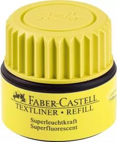 Faber-Castell Textliner 1549 refill, Nachfüllsystem, ST07 gelb (154907)