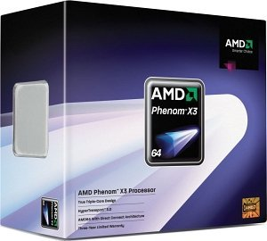 AMD Phenom X3 8650, 3x 2.30GHz, boxed (HD8650WCGHBOX)