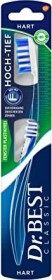 Dr.Best high-deep manual toothbrush, hard