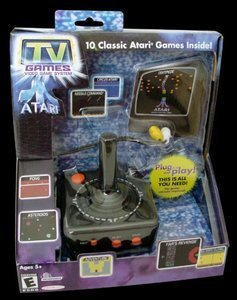 Atari TV Game stick + 10 Gry