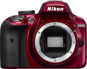 Nikon D3400 rot Body (VBA491AE)