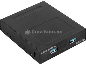 "BitFenix 2x USB 3.0 front panel black, 3.5"", multifunctional frontpanel (BFA-U3-K235-RP)"