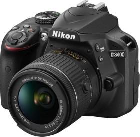 Nikon D3400 schwarz mit Objektiv AF-P VR DX 18-55mm 3.5-5.6G (VBA490K001)