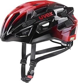 UVEX Race 7 Helm schwarz/rot